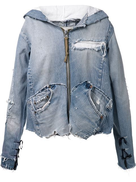 Купить Greg Lauren джинсовая куртка 'The 501'  в The Parliament from the world's best independent boutiques at farfetch.com. Over 1000 designers from 300 boutiques in one website.