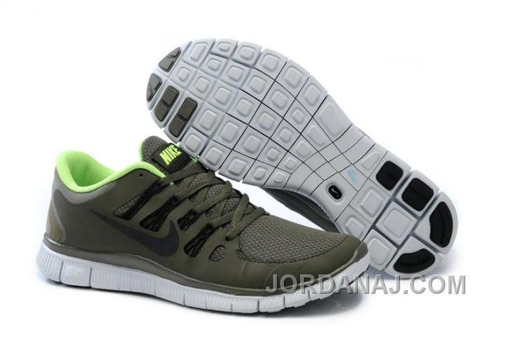 Nike Free 5.0+ Black Metallic Silver Dark Grey White Womens Shoe | Cheap Running  Shoe www cheapestrunning com | Pinterest | Cheap running shoes, Running ...