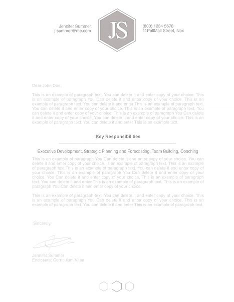 Resume Template 110590 Cover Letter Designs Resume templates