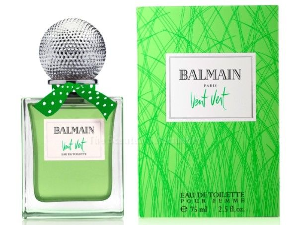 The classic Vent Vert by Balmain created by perfumer Gemaine Cellier in 1947 and re-created by perfumer Calice Becker in 1990, as well as the house's men's classic, Monsieur Balmain have been poured into new flacons to harmonize with other more recent Balmain fragrances packaging....