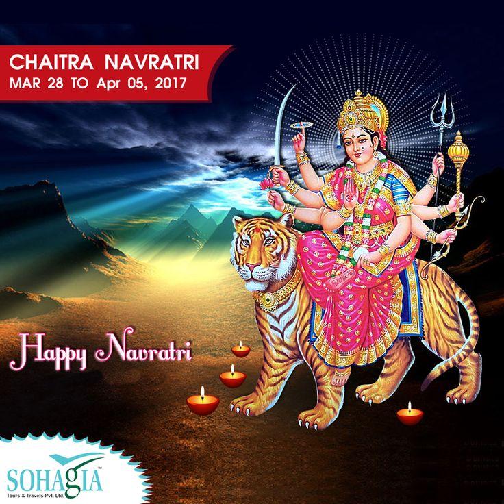 Wish You Happy Chaitra Navratri 2017 - http://www.sohagia.com