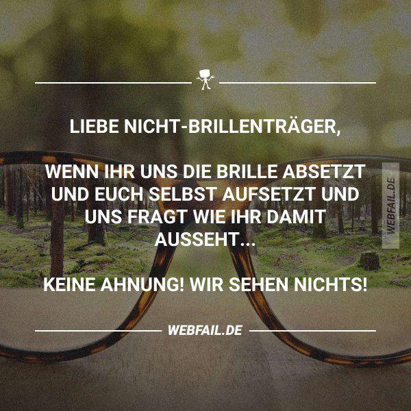 Das ist doch eigentlich logisch, oder? – #brille #…