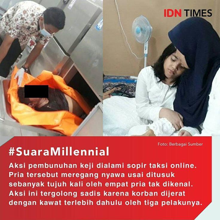Sadis, Sopir Taksi Online Ini Dibegal dengan Samurai ----- Follow @IDNTimes - The Voice of Millennials and Gen Z ----- Aksi pembunuhan keji dialami seorang sopir taksi online bernama Edward Limba (36). Pria tersebut meregang nyawa usai ditusuk sebanyak tujuh kali oleh empat pria tak dikenal di wilayah Sembawa, Kabupaten Banyuasin, Sumatera Selatan. Aksi ini tergolong sadis karena korban dijerat dengan kawat terlebih dahulu oleh tiga pelakunya. Kemudian, satu pelaku datang dan menusuknya…