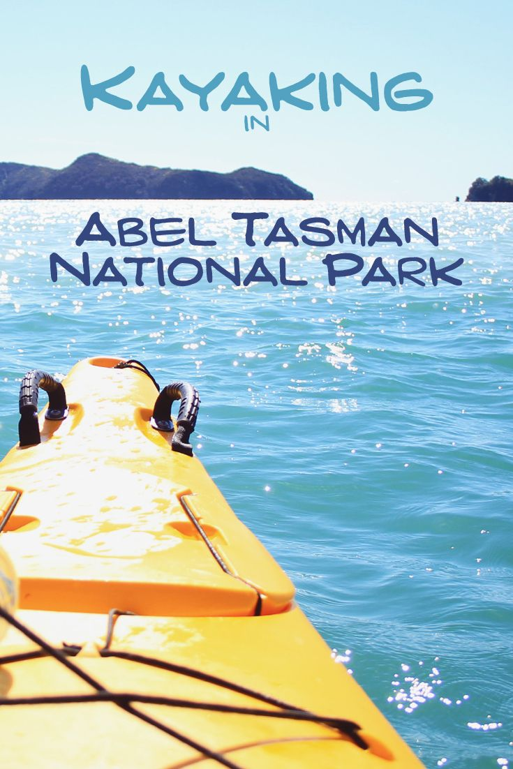 Kayaking In Abel Tasman National Park - Find out more about my trip on my blog :)