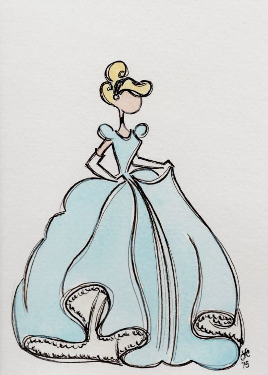 Cinderella / The Art of Leah T.