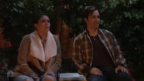 New trendy GIF/ Giphy. snl saturday night live cecily strong lin manuel miranda snl 2016 season 42. Let like/ repin/ follow @cutephonecases