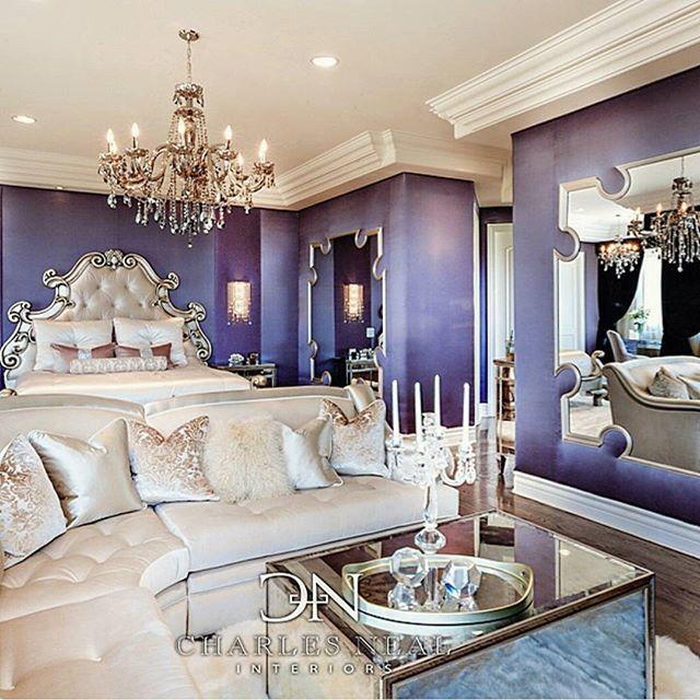 10 Glamorous Bedroom Ideas: #bedroom #interior #interiordesign #luxury #interiors