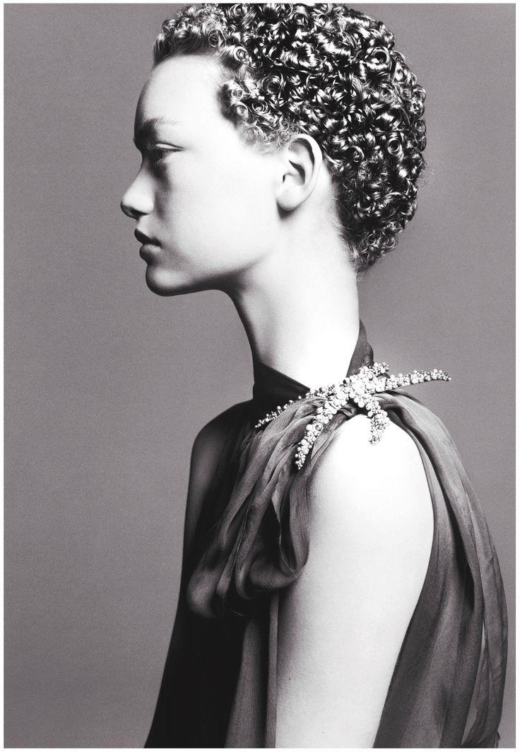 Gemma Ward by Steven Meisel 2004