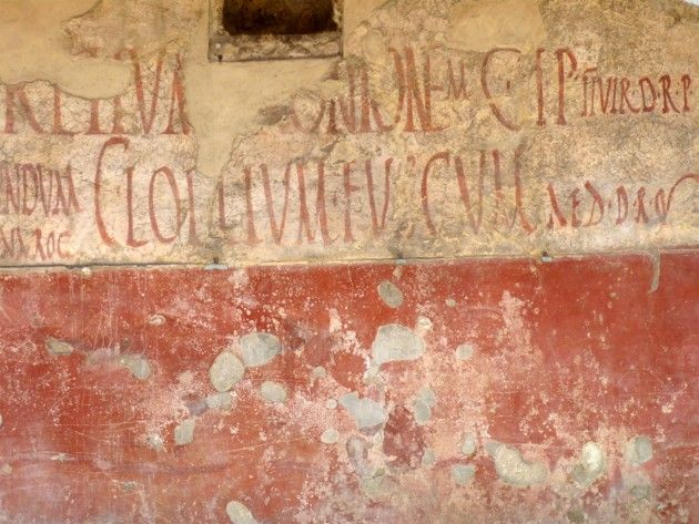 The Graffiti at Pompeii - The Atlantic
