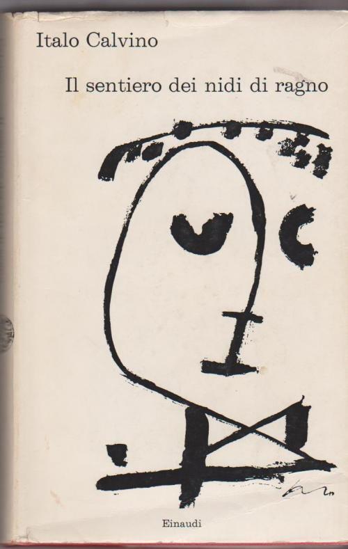 Italo Calvino pubblica nel 1947, all'età di 23 anni, Il sentiero dei nidi di ragno, il suo primo romanzo.