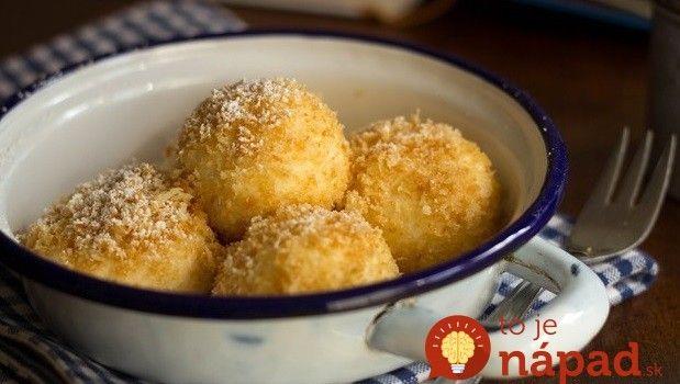 Lepšie ste nejedli: Jemné a mäkučké tvarohové knedličky s úplne jednoduchou prípravou!