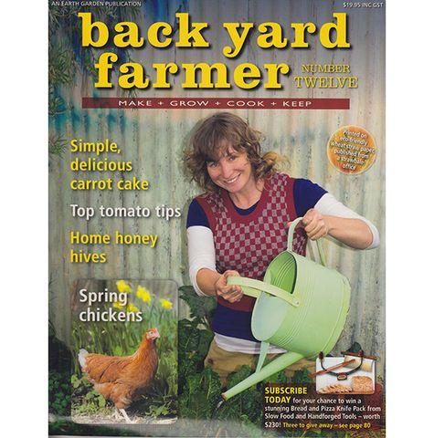 Back Yard Farmer 12 – Earth Garden