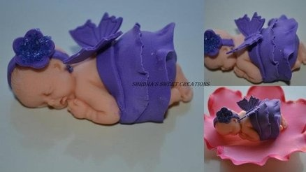 Butterfly Baby Cake