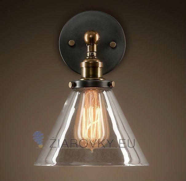 Historické nástenné svietidlo so skleneným tienidlom na žiarovky typu E27 je svietidlo určené na stenu v rustikálnom vzhľade. Svietidlo je vhodné do obývacej izby, kuchyne, jedálne, spálne, reštaurácie a pod. Svietidlo je v medenej farbe a je vhodné ako dekorácia do každej domácnosti. Nástenné svietidlo je zárukou obdivu vašej domácnosti alebo chalupy, reštaurácie a pod