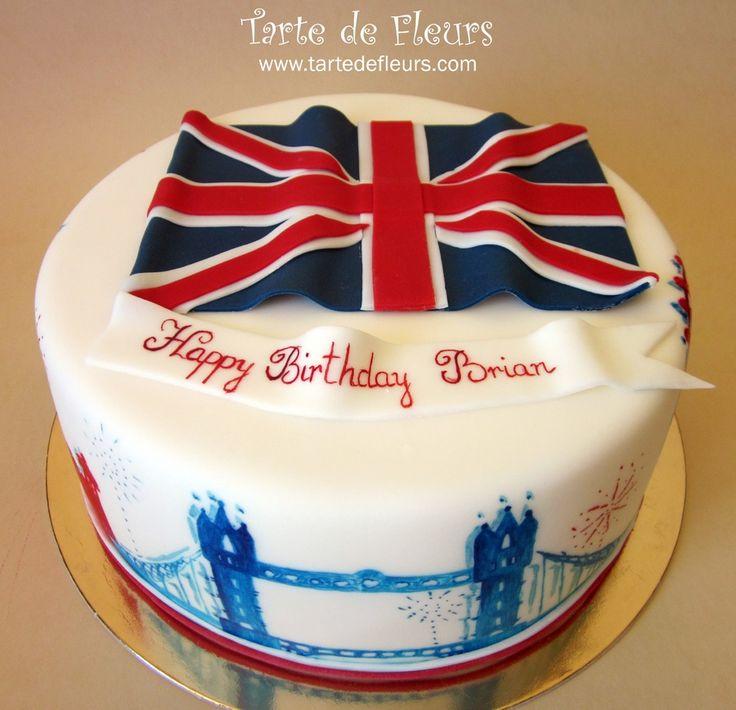 Best 25+ Union Jack Cake Ideas On Pinterest