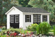 amish built sheds For Sale
