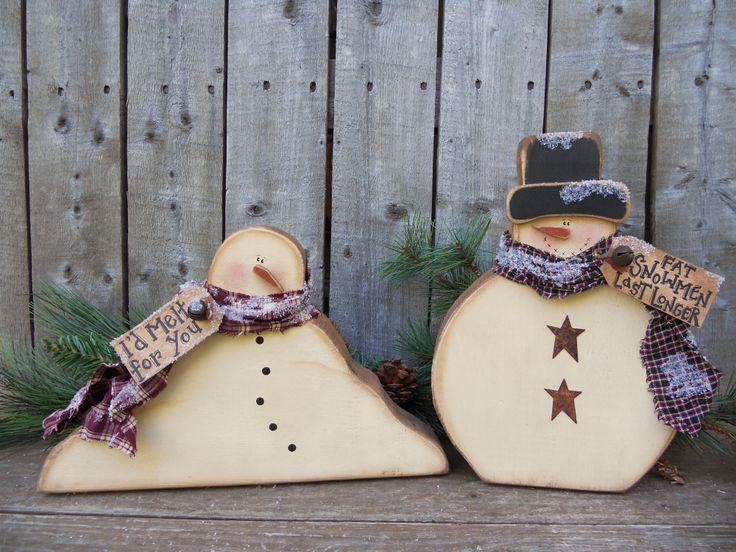 #K167 Chunky Snowmen