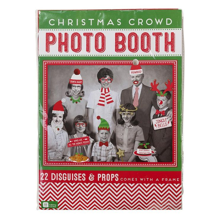Create fun festive memories with a Christmas Crowd Photo Booth.  All the family will love dressing up in Christmas disguises and posing for the camera!  Little Boo-Teek - Christmas Photo Booth Props | Kids Online Store | Talking Tables