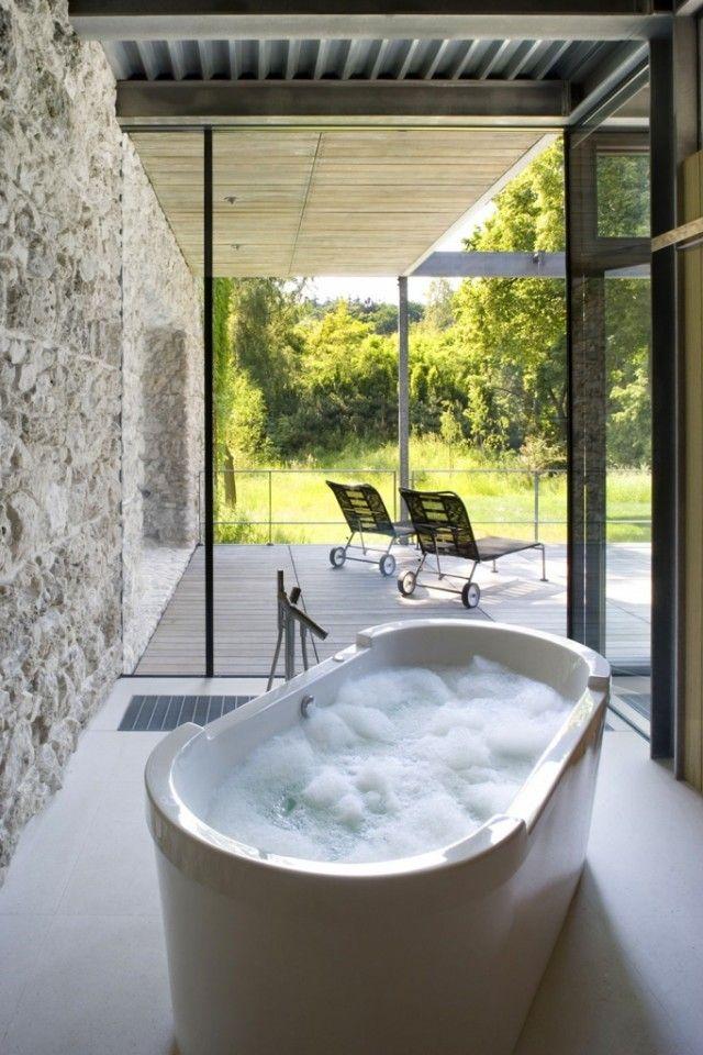 Cuartos de baño con vistas privilegiadas
