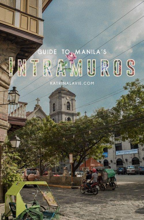 A Tourist In Intramuros: Tips When Visiting   Manila, Philippines   http://www.katrinalavie.com