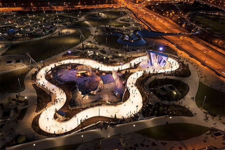 We visit the world's most architecturally striking skating rinks