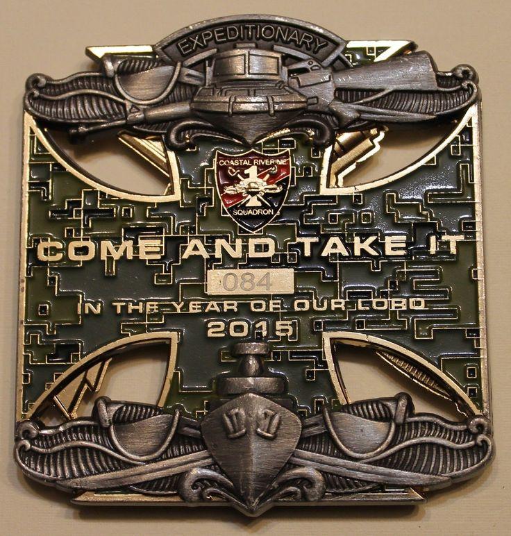 USS Ponce (LPD-15) Desert Sharks ser#084 Navy Challenge Coin
