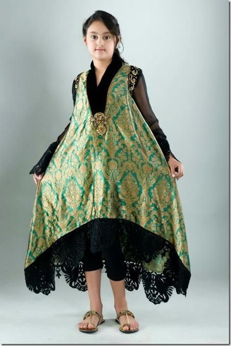 Traditional Pakistani dresses for kids   New Dress Designs for Kids