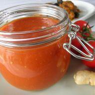 Pečená rajčatová omáčka se zázvorem