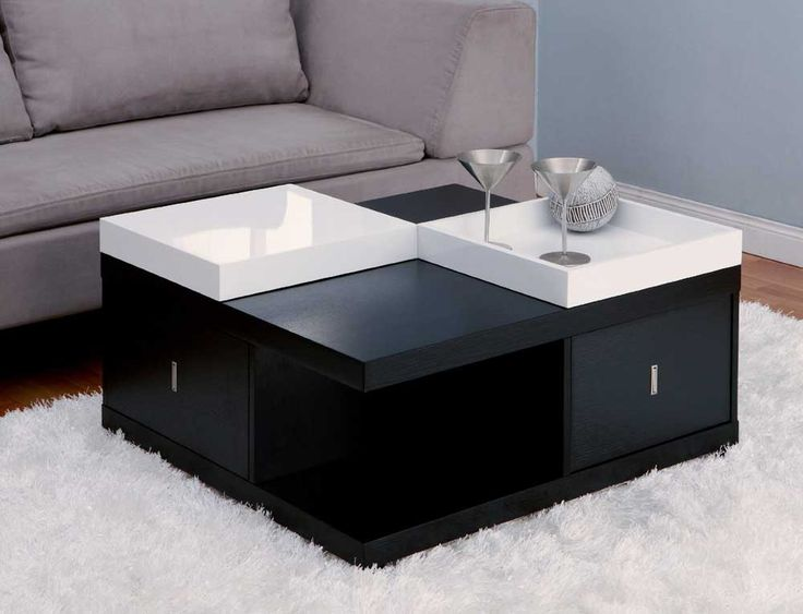 Furniture of America Morgan Square Coffee Table with Serving Tray  Black  Enitial Lab Morgan Square Coffee Table with Serving Tray Enitial Lab Morgan  Square. Best 25  Black square coffee table ideas on Pinterest   Square