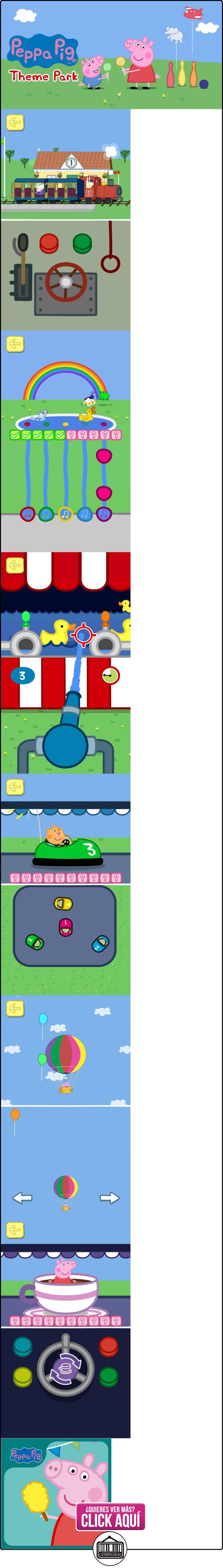 Peppa Pig: Theme Park  ✿ Peppa Pig - Peppa La Cerdita ✿ ▬► Ver oferta: https://comprar.io/goto/B018IKUKI0
