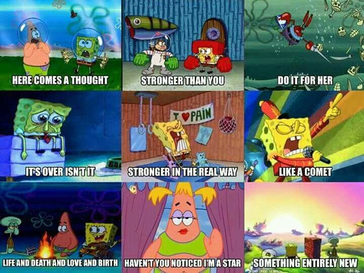 Spongebob as Steven Universe songs