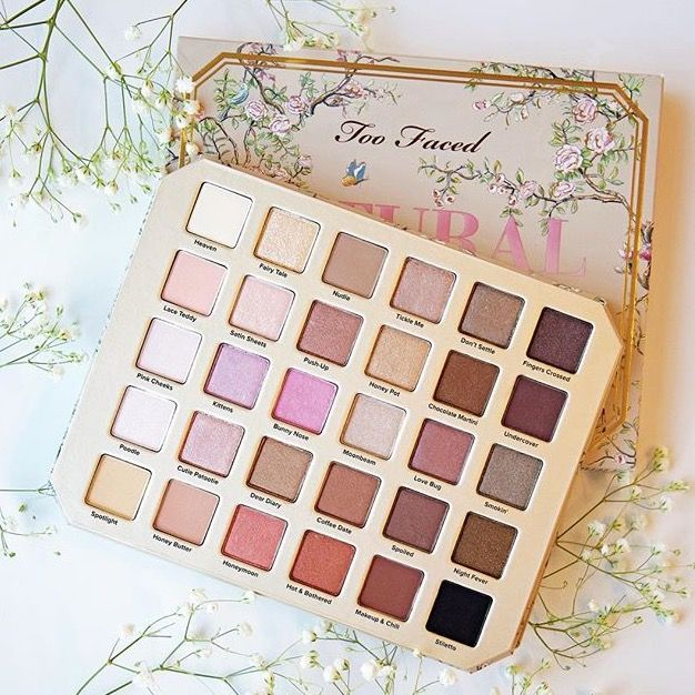 Natural Love - New Too Faced palettes with pretty shades