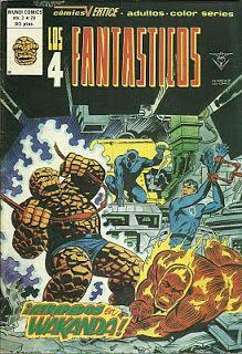 Tebeos, comics y otros sucedaneos en mis estanterias: Los 4 Fantasticos - Vertice v3 #29