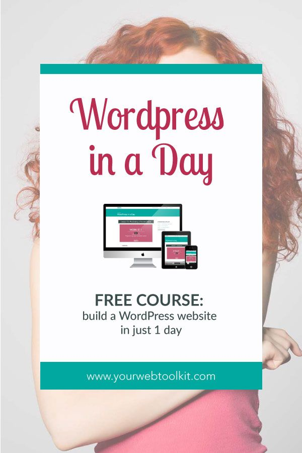 Learn Wordpress in a day, using these easy to follow tutorials. This FREE training is perfect for motivated online entrepreneurs who need a website now! Click to get access to the videos...