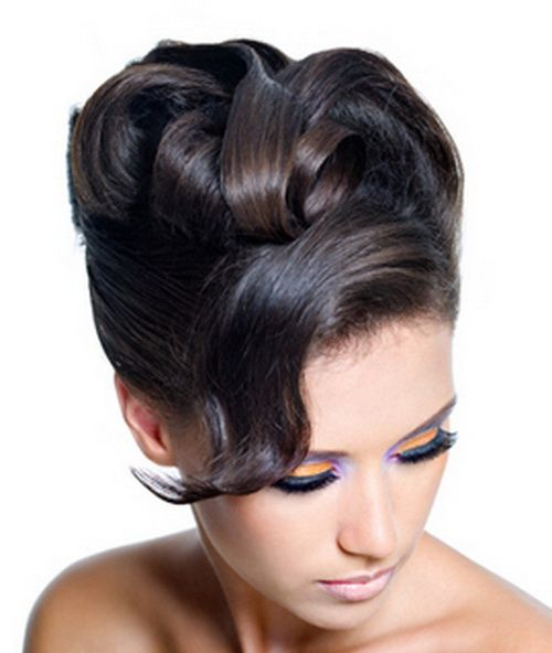 Pleasant 1000 Images About Black Prom Hairstyles On Pinterest Black Hairstyle Inspiration Daily Dogsangcom