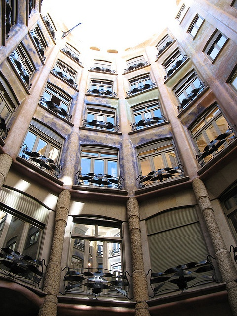 53 best images about Casa Mila by Gaudi on Pinterest ... Casa Mila Courtyard