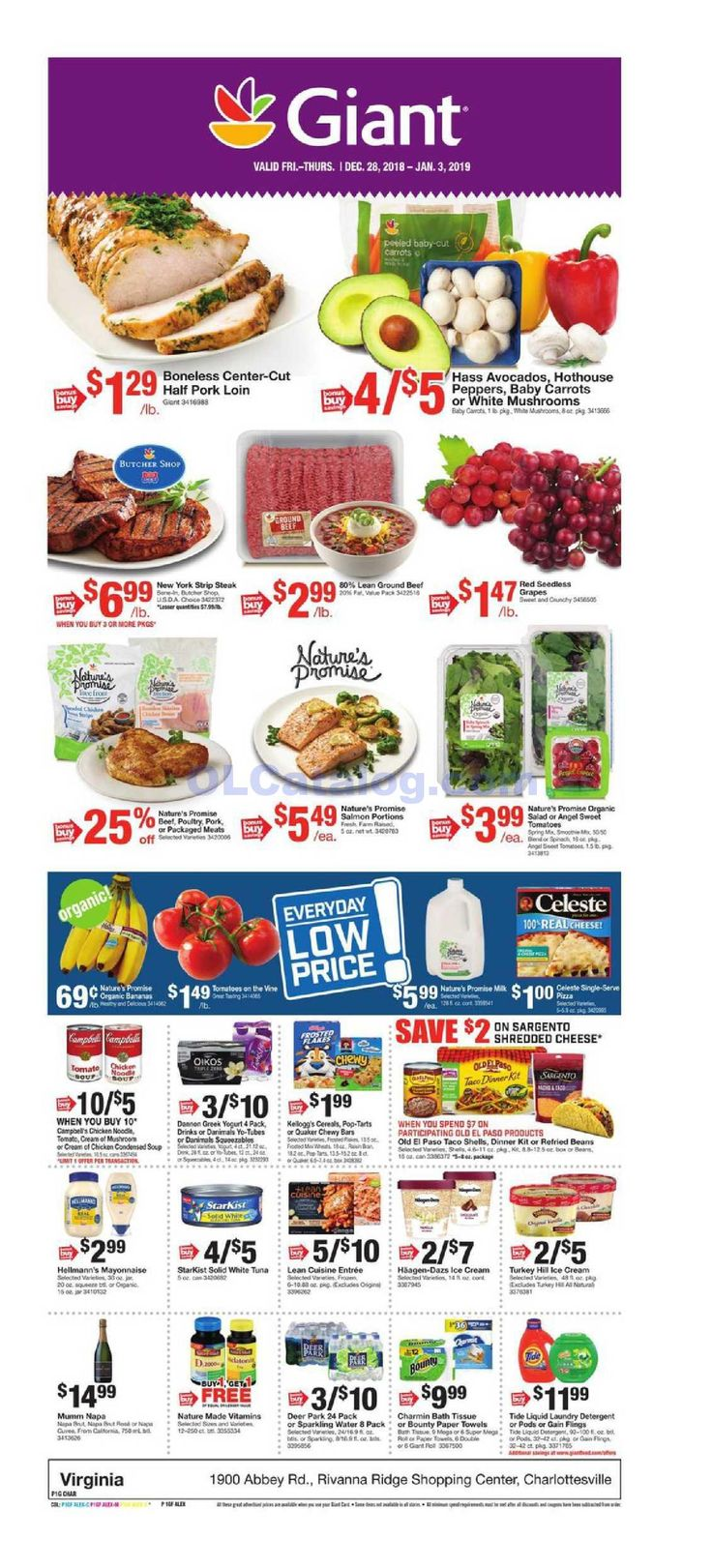 Giant food weekly ad december 28 2018 january 3 2019