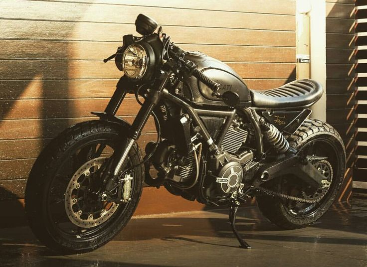 Ducati scrambler cafe racer                                                                                                                                                                                 More
