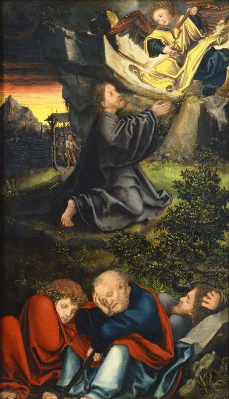 Lucas Cranach the Elder - The Garden of Gethsemane