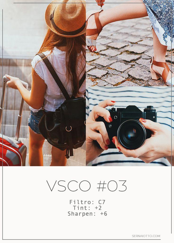 VSCO: 4 filtros e efeitos para copiar