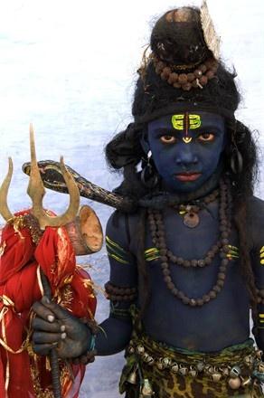Pushkar, India Celebrating Shiva. Raitri