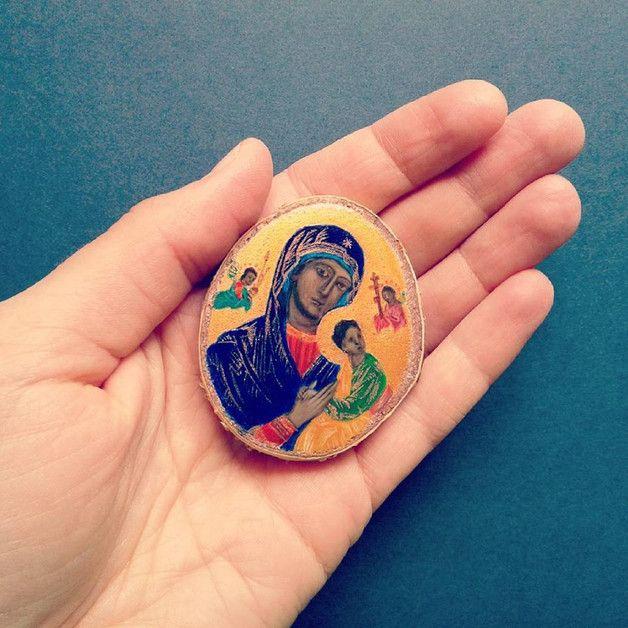 Matka Boża Nieustającej Pomocy - -eli- - Obrazy akrylowe