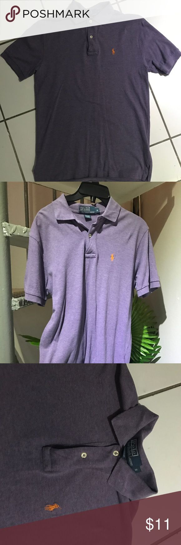 Ralph Lauren Polo 🙋🏼♂️ Cute color is purple but is more like a light purple. small polo used once Ralph Lauren Shirts Polos