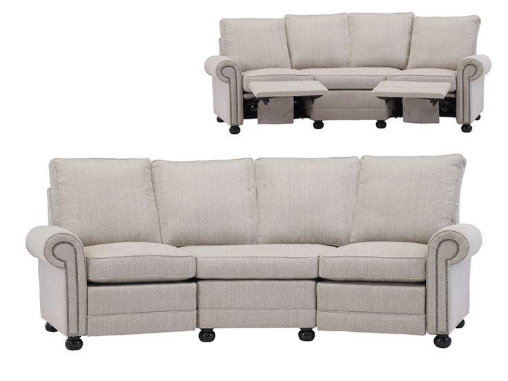 2520/REC2ANG Austin Angled Reclining Sofa : Leathercraft Furniture
