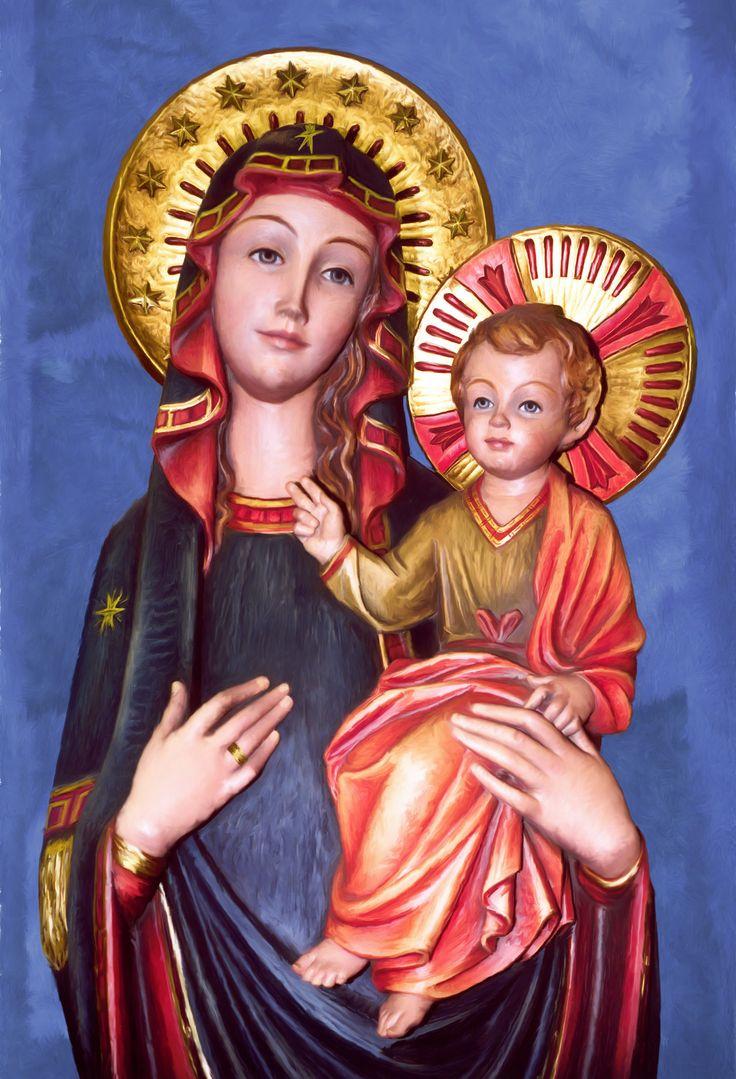 Virgen de la Consolata, Our Lady of Consolata, Nuestra señora de la Consolata | Digital Painting , Pintura Digital 2009 Bogotá Colombia.