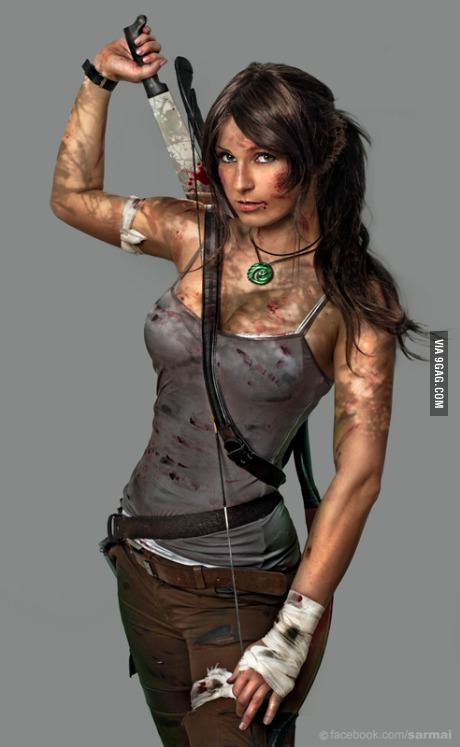 Good Lara Croft cosplay...