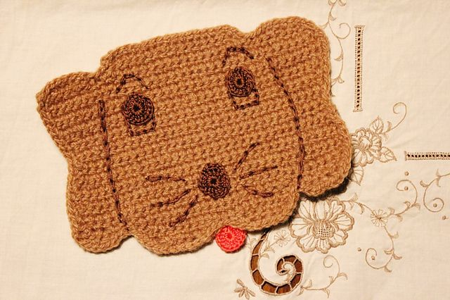 Hot Dog Potholder - Free by American Thread Company Dog ...