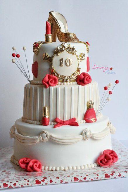 glitter and glamour cake  Cake by emmylovescake