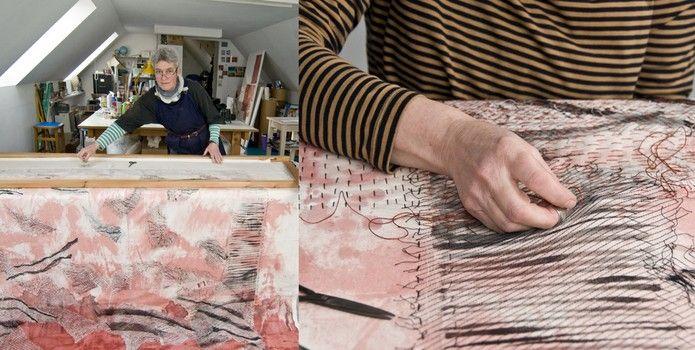 Pauline Burbidge Quiltmaker - Meet Your Maker at the Borders Textile Towerhouse