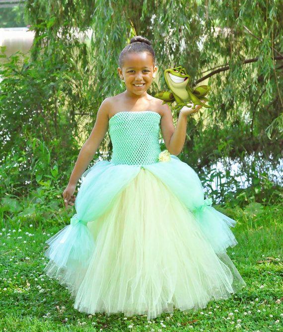 Princess Tiana Dress: Size 12 Princess And The Frog Tiana Inspired